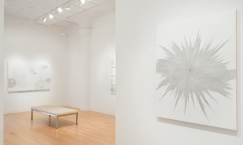 Paintings by Jenifer Kent seen at Dolby Chadwick Gallery, SF, San Francisco - Hyperspace