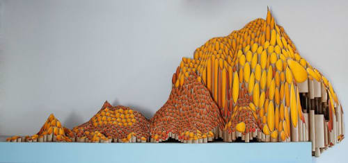 Sculptures by Suzanne Wyss seen at Thinkery, Austin - Honey Mountain