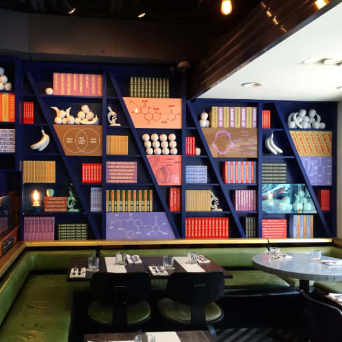 Art & Wall Decor by Eric Mistretta seen at The Drake Hotel, Toronto - Bookshelf (Basic Science)