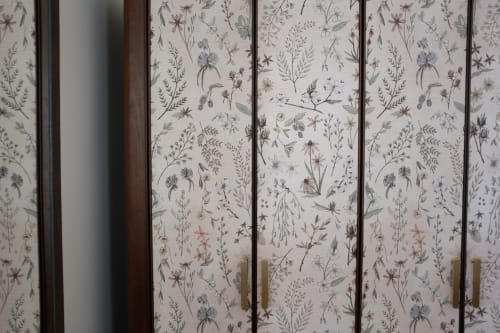 Wallpaper by Sisal Creative at The Dewberry Charleston, Charleston - Armoire