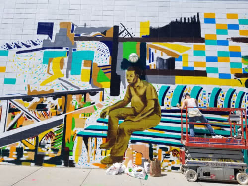 Marie E. Saint-Cyr - Art and Public Mosaics