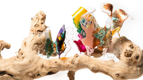 Sculptures by Marisabel Bazan seen at Private Residence, Los Angeles - Little Treasures