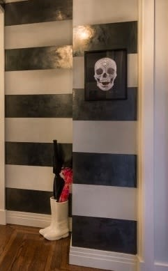 Paintings by Damien Hirst seen at Private Residence - W 75th St, New York - Encrusted Skull