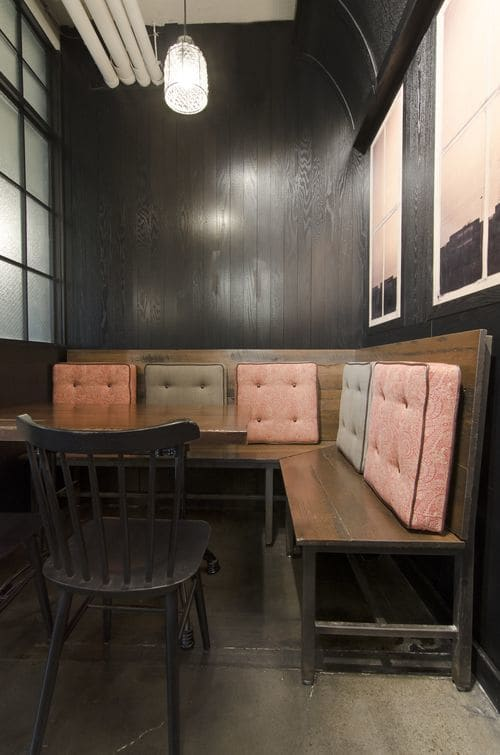 Furniture by Bailey Davol / Studio Build seen at The Sinclair, Cambridge - Custom Furniture