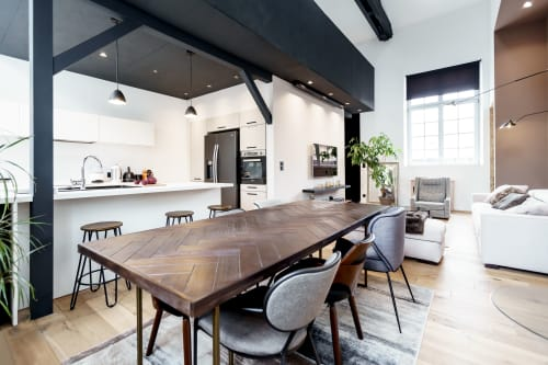 Interior Design by Myspaceplanner seen at Private Residence, Nancy - Bonsecours Loft