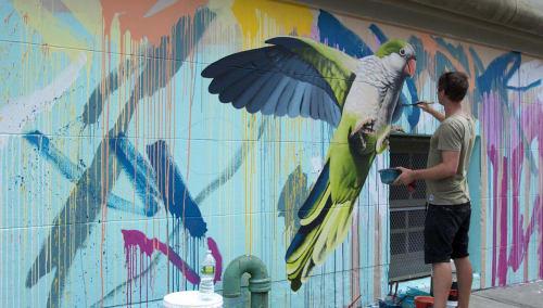 Geoffrey Carran - Art and Street Murals