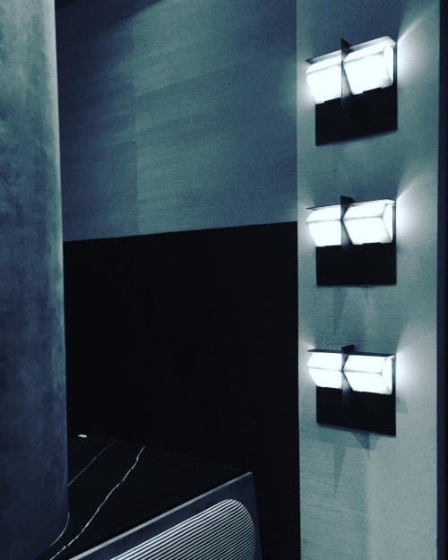 Sconces by Edition Modern seen at Private Residence, Los Angeles - MASK Wall Sconces