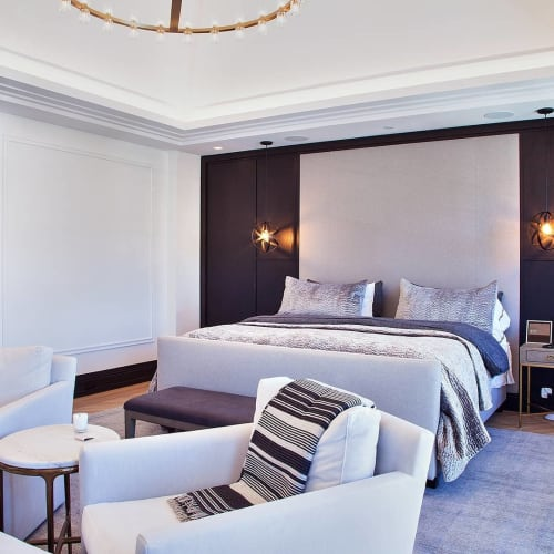 Wall Treatments by Select NYC Millwork seen at Private Residence, New York - Feature Wall Millwork