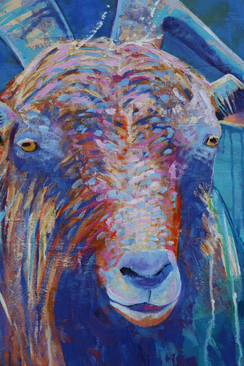 Paintings by Dara's Fine Art seen at Private Residence, Cedar City - Sentinel