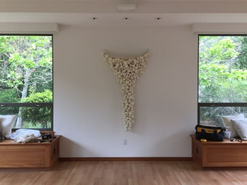 Sculptures by Victoria Welling seen at Private Residence - Mill Valley, CA, Mill Valley - Untitled (Cluster)