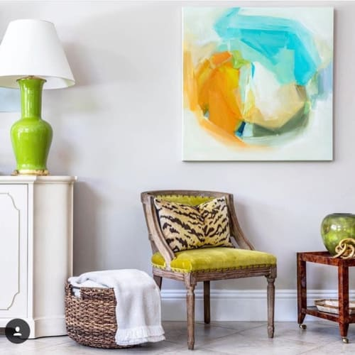 Paintings by Hillary Butler (Fine Art) seen at Private Residence, Palm City - Tamara
