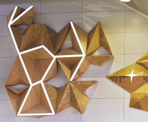 Public Sculptures by Forlano Design at Perth Airport (PER), Perth Airport - From the Skies