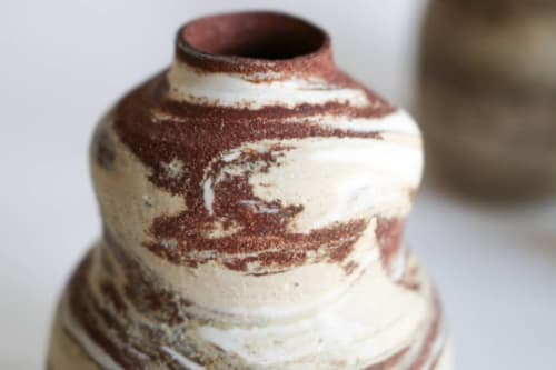 Vases & Vessels by Emprium Julium Ceramics by Julija Pustovrh seen at Private Residence, Edinburgh - SANDSCAPE - Isuka