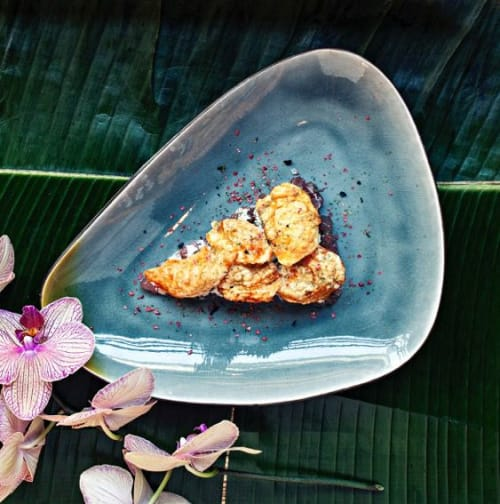 Ceramic Plates by Mieke Cuppen seen at Ron Gastrobar Indonesia, Amstelveen - Gastro Grey Collection