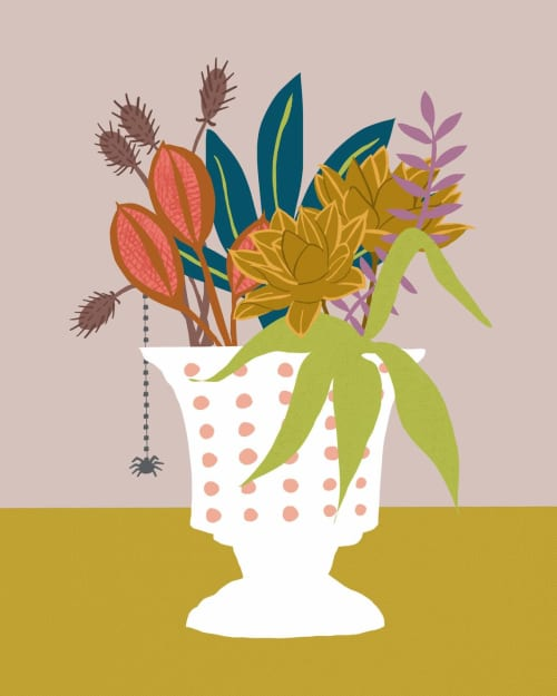 Paintings by Birdsong Prints - Floral Illustration, Modern Art Print
