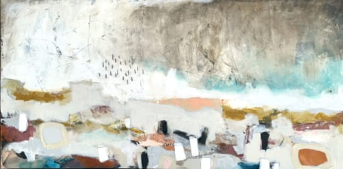 Paintings by Glenna Adkins seen at Private Residence, Miami - Abstract Painting