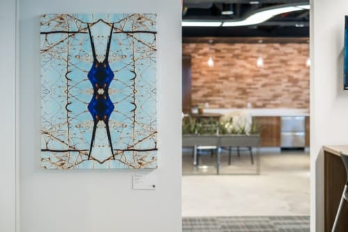 Wall Hangings by Danny Augustine seen at T3 Advisors, Boston - Bird's Eye View