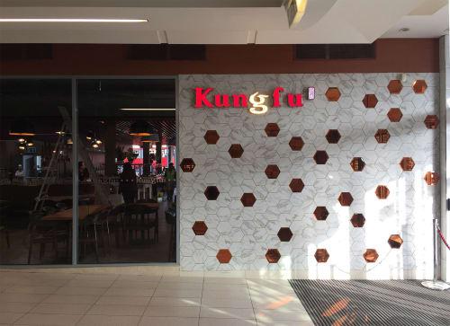 Interior Design by York Design Studio at Newbury, Newbury - Kungfu Restaurant