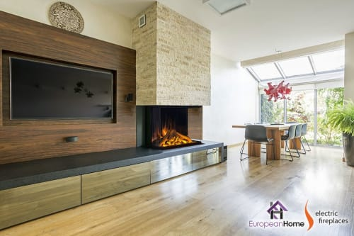Fireplaces by European Home seen at 30 Log Bridge Rd, Middleton - E32H Electric Fireplace