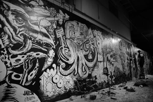 Murals by JALLEN Art and Design seen at Worcester, Worcester - Secret Walls Worcester