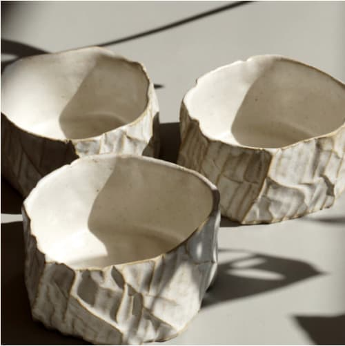 Cups by Ray G Brown seen at Kentish Town Stores, London - Cardboard Ceramics Tumbler