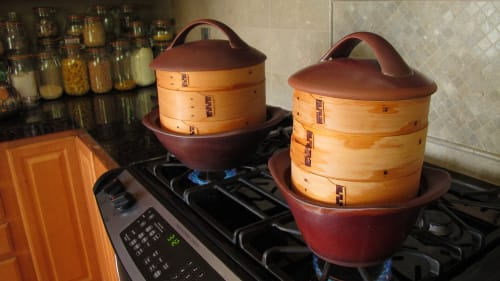 Tableware by Cook on Clay seen at Private Residence, Bainbridge Island - Casserole / Stovetop Pot