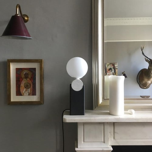 Lamps by Louis Jobst seen at Private Residence, Edinburgh - Monument Lamp V2