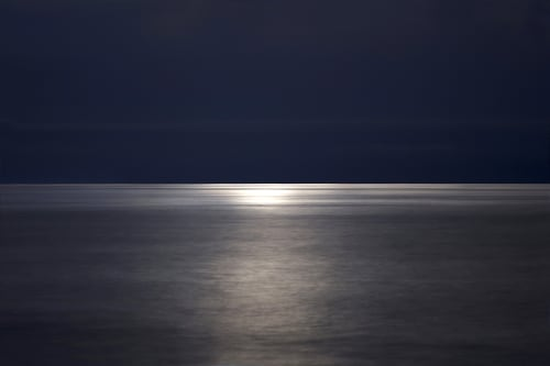 Photography by Chris Becker Photo at Private Residence, Boston - Moon Over Atlantic #14, 2018