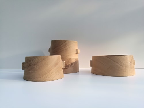 Tableware by woodappetit seen at Private Residence, Barcelona - Crooked bowls