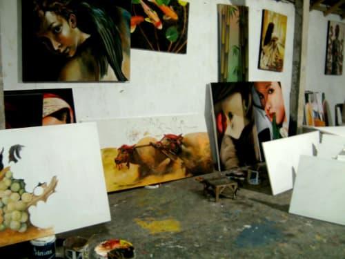 Paintings by apissartstudio seen at Creator's Studio - apissartstudio