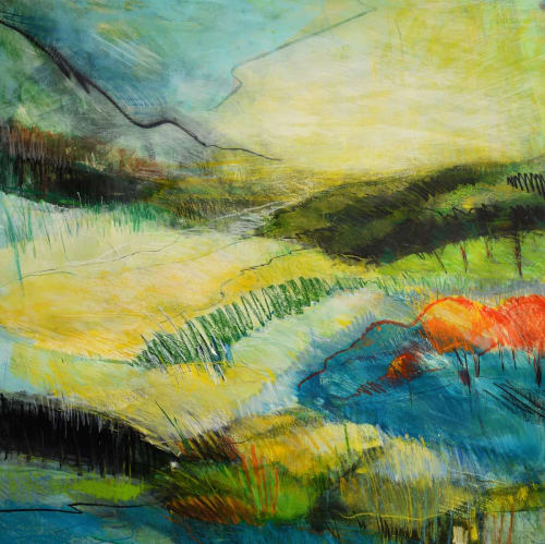 Paintings by Kim McAninch seen at Private Residence, Longboat Key - HEAD & HEART 57