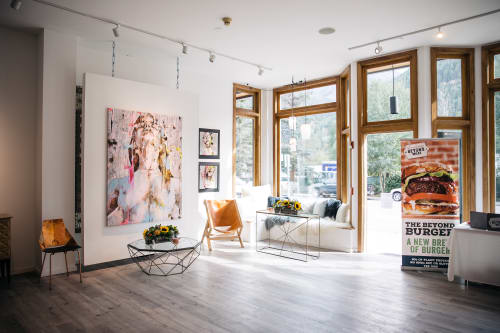 Paintings by Mixx projects + atelier seen at Telluride, Telluride - Eating Animals  Party