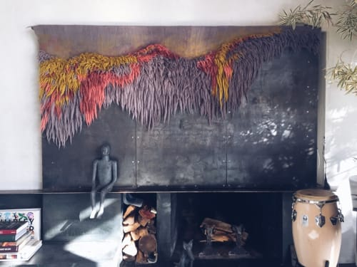 Wall Hangings by Taiana Giefer seen at Private Residence, Santa Barbara - Conception