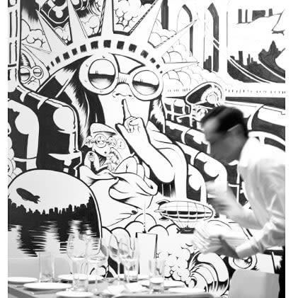 Murals by Tim Barnard seen at New York, New York - NYC Installation