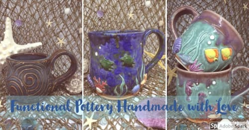 Smiley Seahorse Ceramics - Cups and Tableware