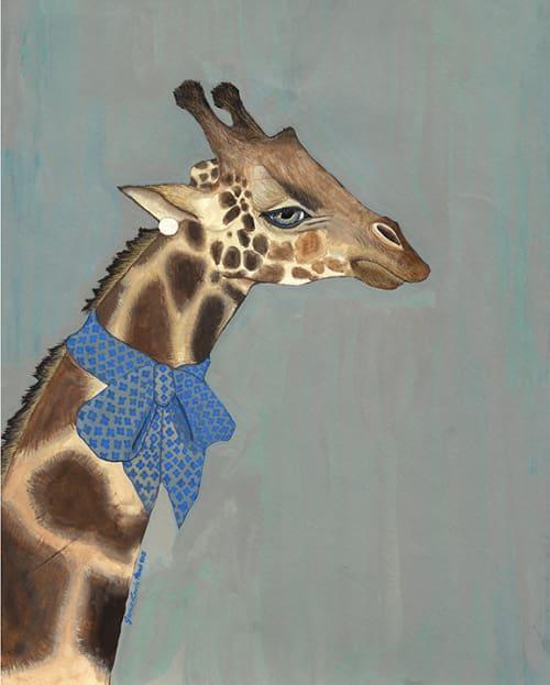 Art & Wall Decor by Jamie L. Luoto seen at Diavola Pizzeria & Salumeria, Geyserville - Giraffe
