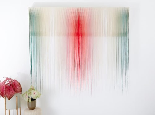 Wall Hangings by Nike Schroeder Studio seen at Private Residence, Dallas - Fiber Art