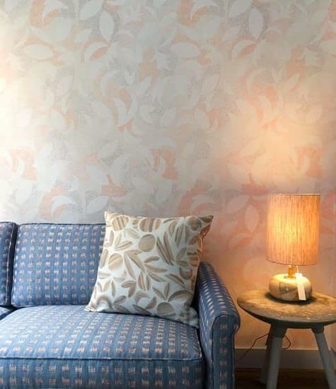 Lamps by Mizrahi-Hellmann Ceramics seen at Rebecca Atwood Designs Showroom, New York - trigon lamp