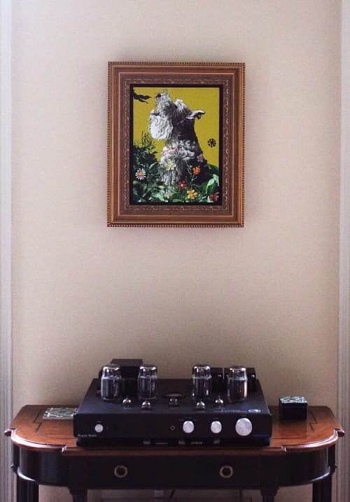 Paintings by Katya Maria Cohen seen at Private Residence, Clemson - Ziggy