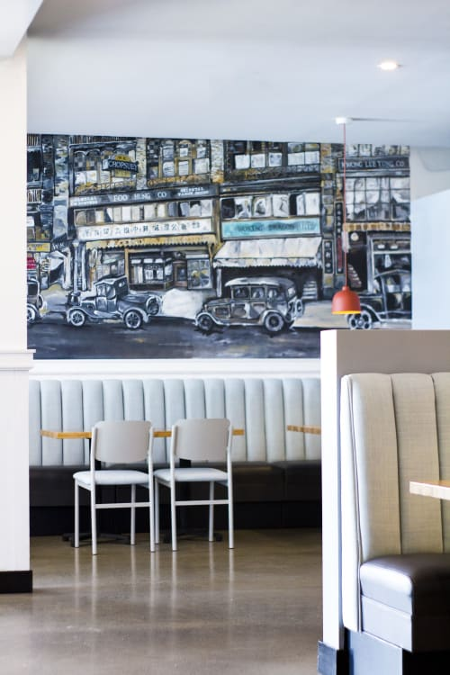 Interior Design by Landon Dix Design Studio seen at Woking Dragon Chop Suey House, Maple Ridge - Woking Dragon