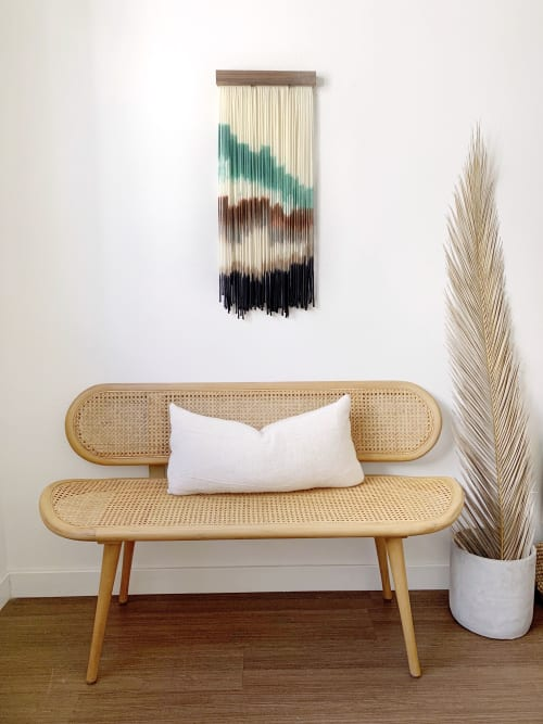 Wall Hangings by Kait Hurley Art seen at Private Residence, New York - Emerald Lake