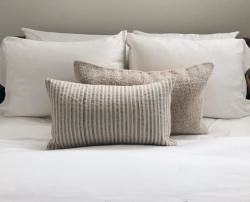 Single Sided Vintage Hemp Pillows | Pillows by HOME | Merchant House High Desert in Morongo Valley