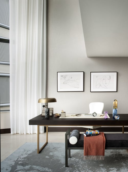 Interior Design by TG Studio seen at Private Residence, London - Corniche Penthouse