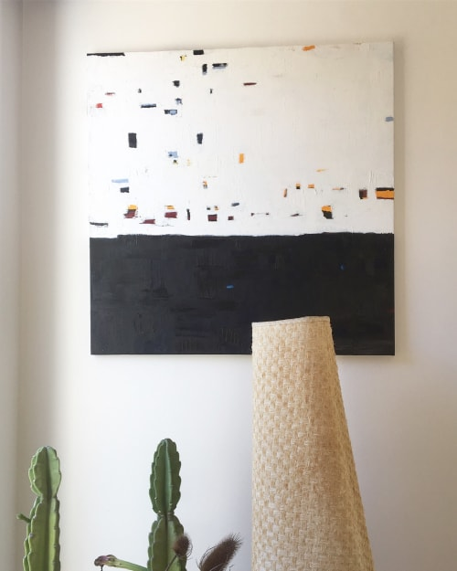 Paintings by Sara Marlowe Hall seen at Private Residence, Los Angeles - Beneath It All