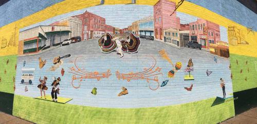 Street Murals by fGonz Jove seen at St. Louis, St. Louis - Calle Cherokee