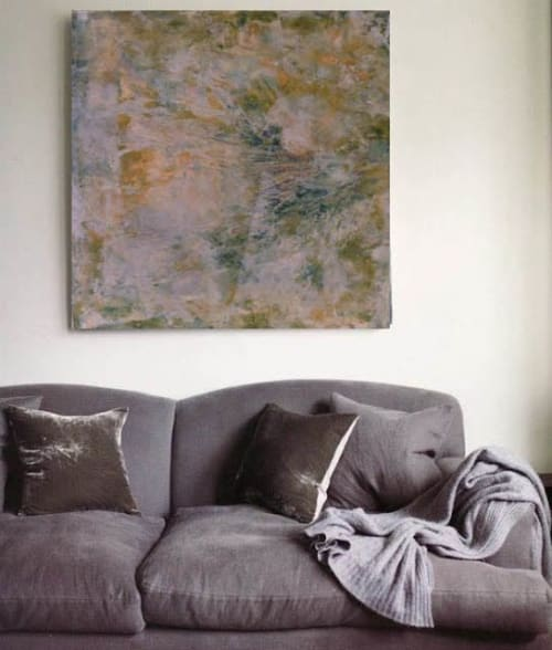 Paintings by Barfoot Fine Art seen at Private Residence, Santa Fe - A Whispered Story