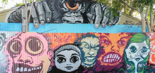 Street Murals by Sean Boyles seen at San Jose, San Jose - Mural