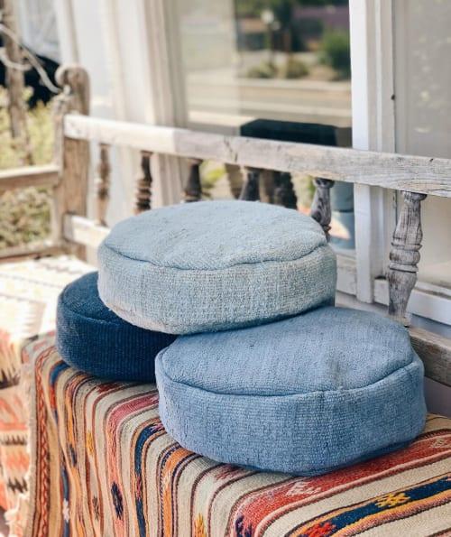 Pillows by Wayfarer seen at Moona Star, Topanga - Meditation Cushions