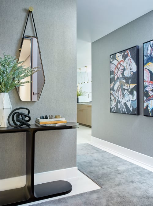 Interior Design by Darci Hether New York seen at Private Residence, New York - Financiers Pied-à-Terre, Tribeca, NYC