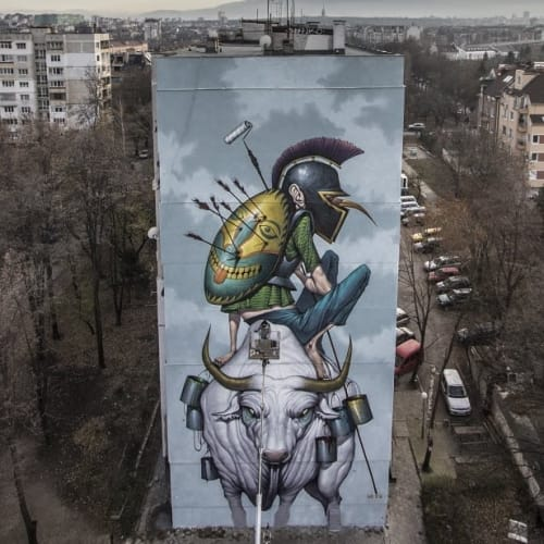 Bozko - Street Murals and Murals